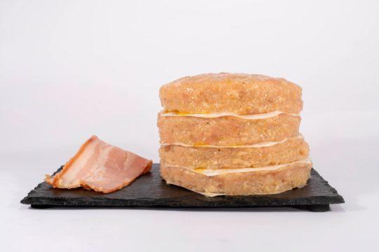 hamburguesa fitness pollo bacon maria natura