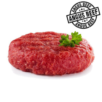 Burger FIT Black Angus sello
