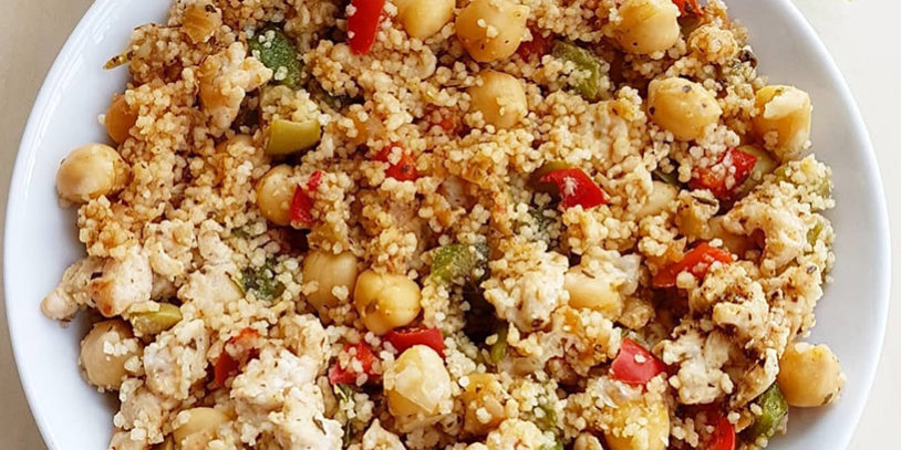 Receta De Couscous Con Garbanzos Burger Saludable
