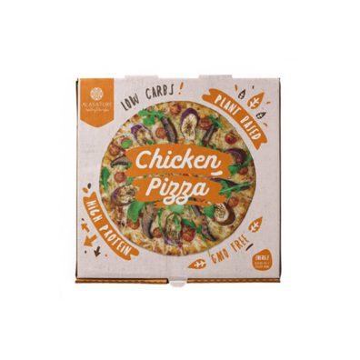 Pizza Proteica de Pollo Alasature