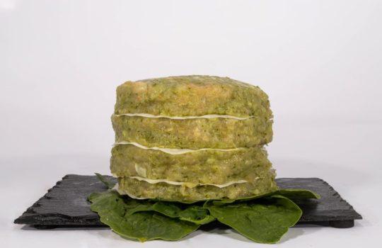 hamburguesa proteica pollo espinacas popeye maria natura