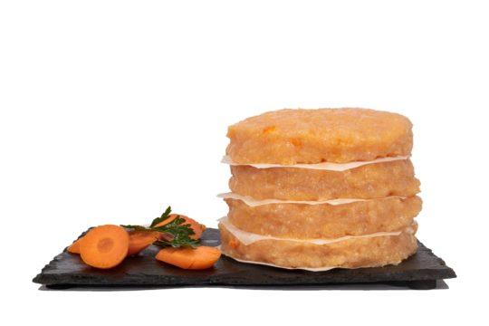 hamburguesa proteica pollo zanahoria maria natura